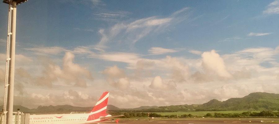 Air Mauritius A319 at Plaisance Airport - #airmauritius #traveltips #mauritius