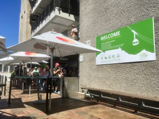 Landing Area for the cableway to Table Mountain in Cape Town - #cablecar #cableway #tablemountain #southafrica #capetown