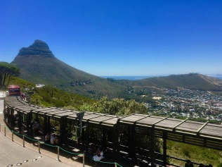 Lion's Head, Cape Town - view from the landing area for the Table Mountain Cable car #capetown #tablemountain #southafrica