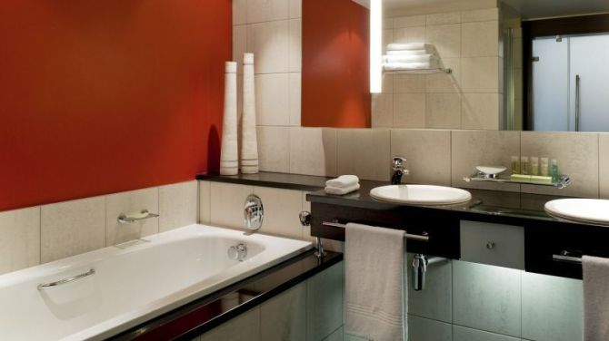 Deluxe room Bathroom at The Westin Cape Town - Hotel in Cape Town - Where to stay in Cape Town