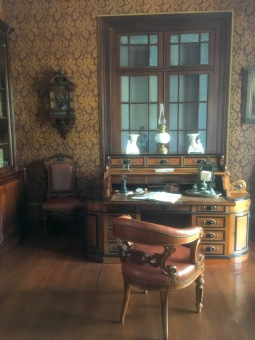 Beautiful Office with 19th century furniture at Chateau de Labourdonnais in Mauritius - Things to do in Mauritius - Cultural visits in Mauritius - Mauritius