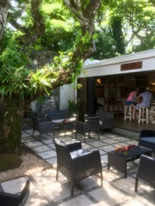 Bar at La Table du Chateau at Chateau Labourdonnais - Things to do in Mauritius