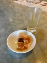 Fruit paste and ginger rum at Chateau de Labourdonnais in Mauritius - Things to do in Mauritius
