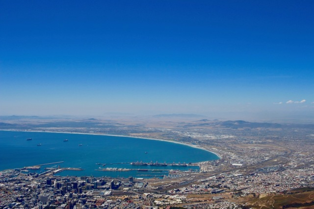 Cape Town View from Table Mountain - #capetown #tablemountain #southafrica #wonderofnature