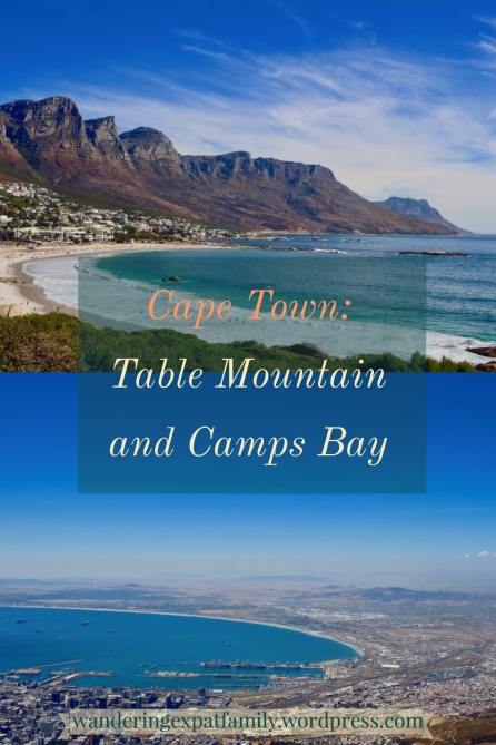 Cape Town from Table Mountain and Coastline #capetown #bustour #campsbay #cliftonbeach #southafrica