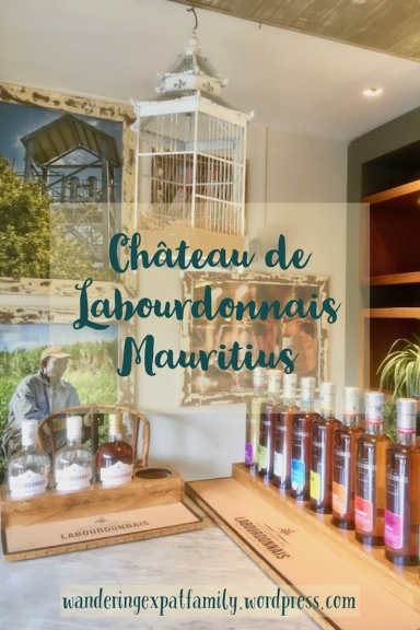 Chateau de Labourdonnais - Rhum Tasting in Mauritius