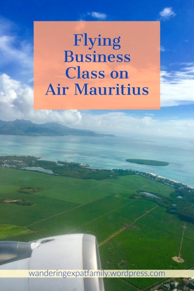 Flying Business Class on Air Mauritius