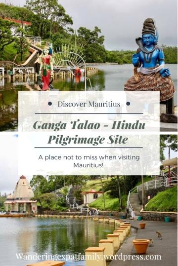 Ganga Talao in Mauritius - Largest Hindu pilgrim site on the island