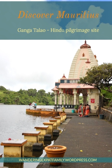 Ganga Talao in Mauritius Largest Hindu pilgrim site on the island - #mauritius