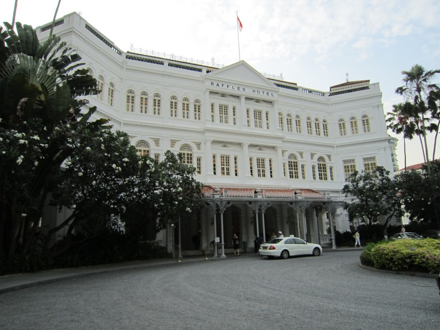 Raffles Hotel, Singapore - Plan a trip to Singapore - What to do in Singapore