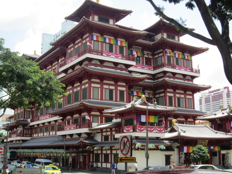 Buddha Tooth Relic Temple, Chinatown, Singapore - Planning a trip to Singapore