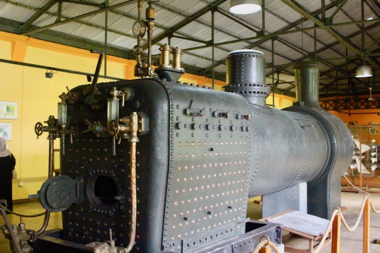 Locomotive at the Tea Museum at the Bois Chéri tea plantation - Things to do in Mauritius - Visits in Mauritius