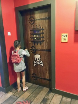 Entrance to Pirate Premium Room at Legoland Malaysia #Hotel in Malaysia - #Hotel in Johor Bahru #LegolandMalaysia #LegolandHotel - #Hotelreview
