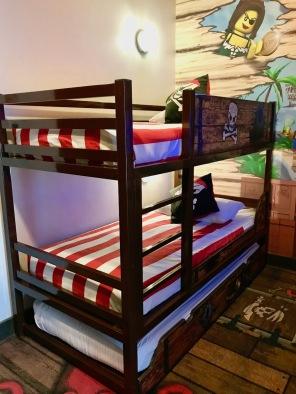 Kids bedroom in Pirate Premium Room at Legoland Hotel Malaysia #Hotel in Malaysia - #Hotel in Johor Bahru #LegolandMalaysia #LegolandHotel - #Hotelreview