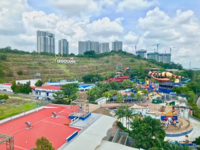 View from Room over the Waterpark at Legoland Hotel Malaysia #Hotel in Malaysia - #Hotel in Johor Bahru #LegolandMalaysia #LegolandHotel - #Hotelreview