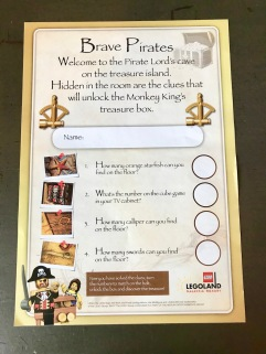 Safety Box and Treasure Hunt in Pirate Premium Room at Legoland Hotel Malaysia #Hotel in Malaysia - #Hotel in Johor Bahru #LegolandMalaysia #LegolandHotel - #Hotelreview