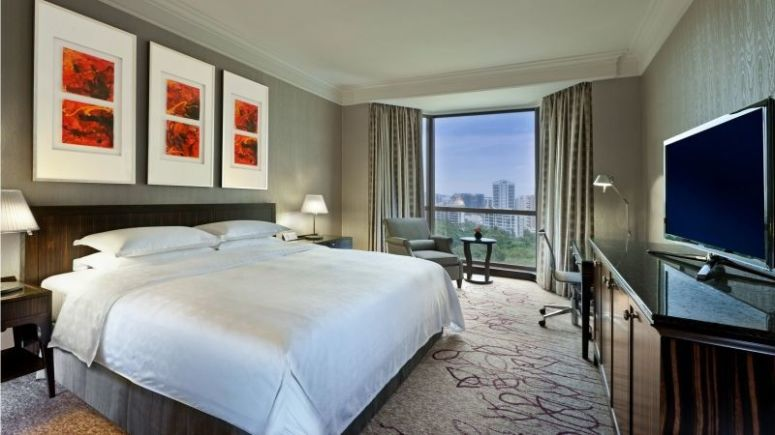 Deluxe room at Sheraton Towers, Singapore - Where to stay in Singapore - Sheraton Towers Singapore Hotel Review
