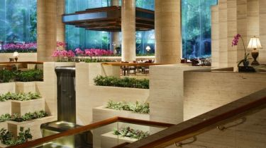 View of lobby at Sheraton Towers, Singapore - Where to stay in Singapore - Sheraton Towers Singapore Hotel Review