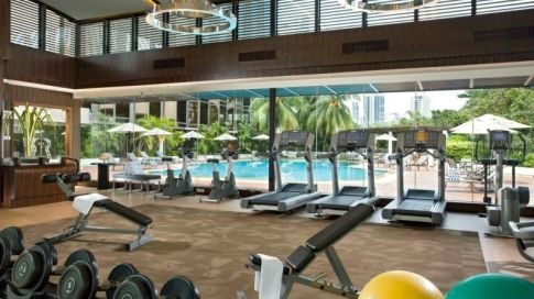 24hours fitness at Sheraton Towers, Singapore - Where to stay in Singapore - Sheraton Towers Singapore Hotel Review