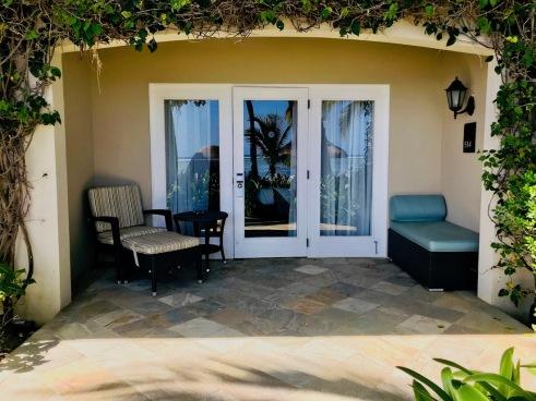 Garden rooms entrance and terrace - Sugar Beach Mauritius - Hotel in Mauritius