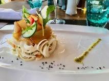 Palm heart salad - Tides Restaurant - Sugar Beach Mauritius - Hotel in Mauritius