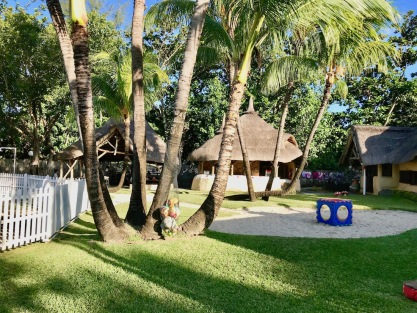 Gardens at the Sun Kids Club - Sugar Beach Mauritius - Hotels in Mauritius - Kids activities in Mauritius - Where to stay with kids in Mauritius - #Mauritius #IleMaurice