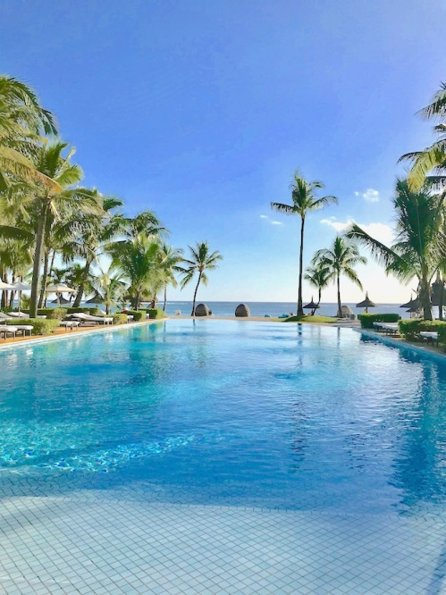 Adults only pool at Sugar Beach Mauritius - Hotels in Mauritius