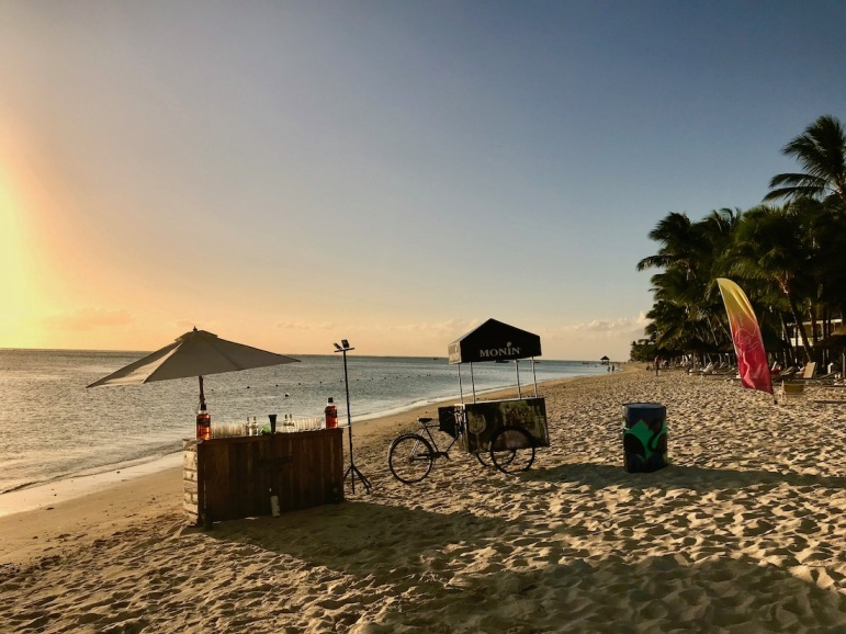 Beach set up for the event Sun of the People - Hotels in Mauritius - #Mauritius #Hotels in Mauritius #Things to do in Mauritius #Beach in Mauritius - #IleMaurice