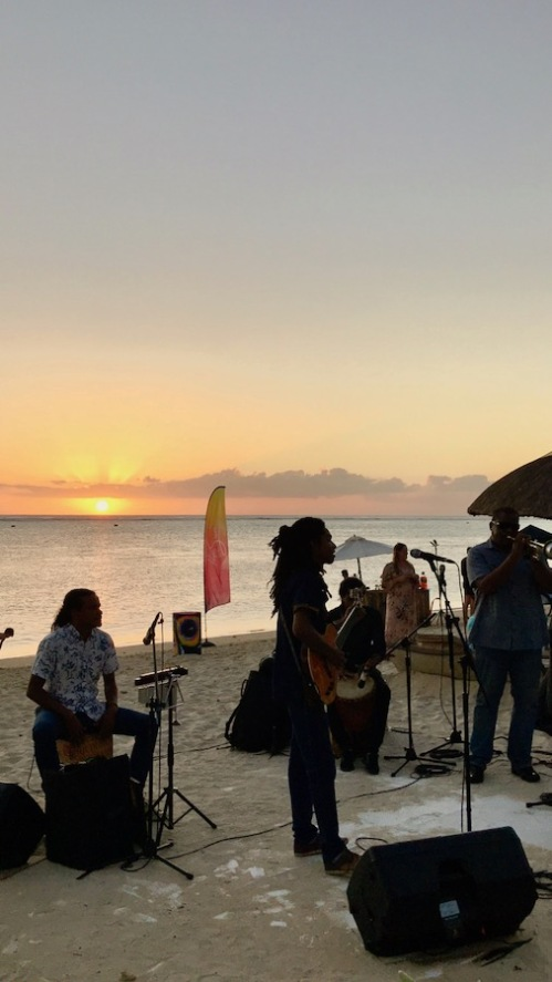 EvaD playing at Sugar Beach Mauritius for the musical event Sun of the People - Hotels in Mauritius