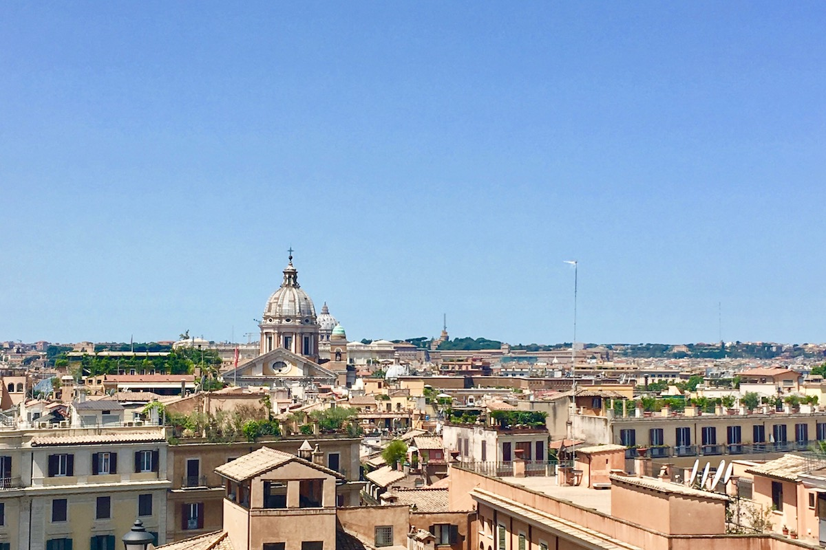 View of Rome - Italy How to plan a trip to Rome Things to do in Rome #Rome #Italy #Europe #Traveltips