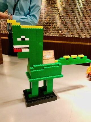 Kiddos 2 Dino for the Lego Model COmpetition - Legoland Hotel Malaysia