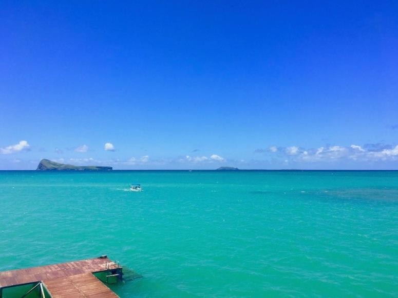 Lagoon in North Mauritius - perfect for watersports! #mauritius #nature #sunshine #holidays #travelblog #winter #traveltips