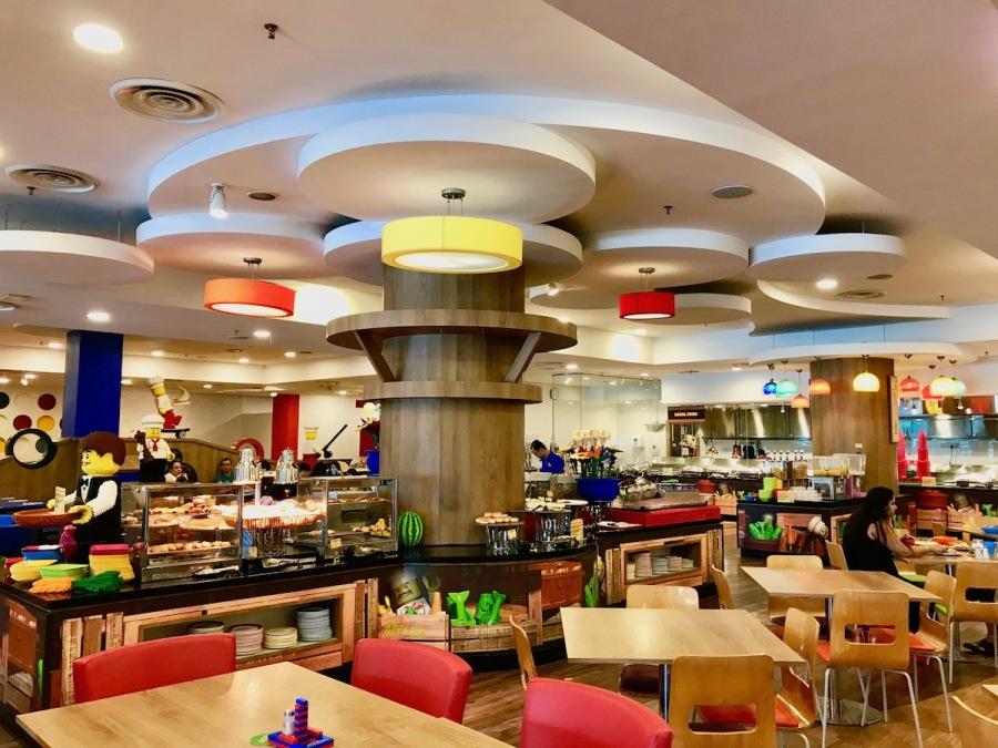 Main Restaurant at Legoland Hotel Malaysia
